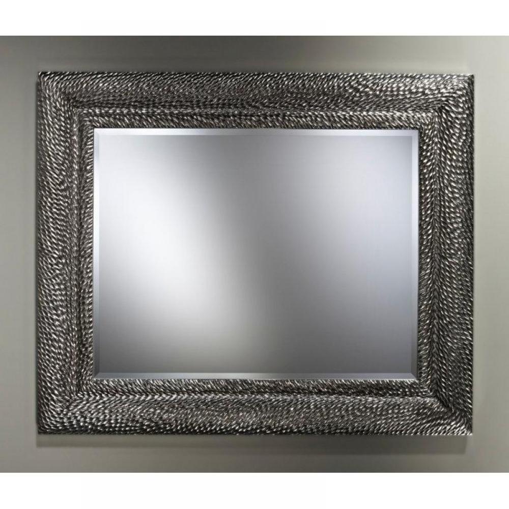 Canap s convertibles ouverture rapido sherwood miroir mural design en verre argent inside75 for Miroir vertical mural design