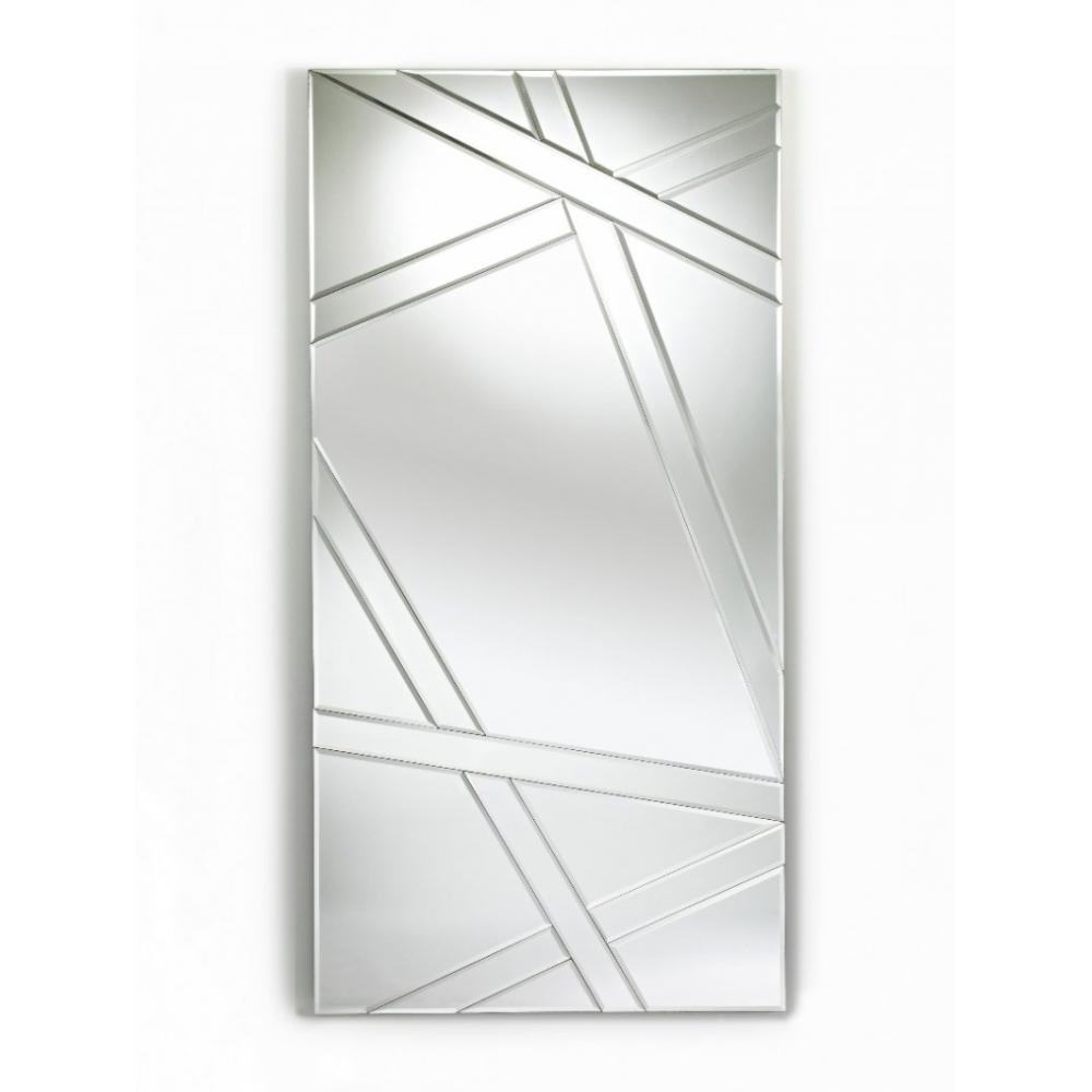 miroirs meubles et rangements sight miroir rectangulaire en verre biseaut inside75. Black Bedroom Furniture Sets. Home Design Ideas