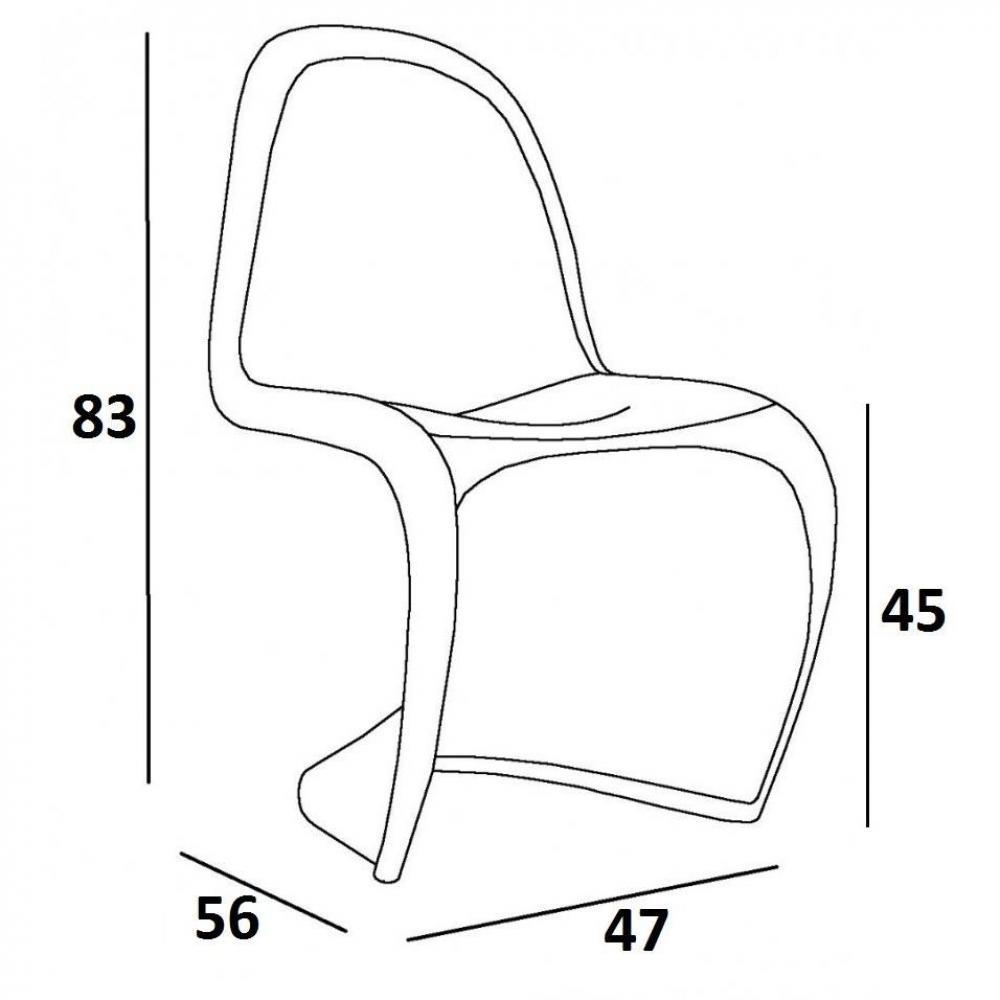 chaise design ergonomique et stylis e au meilleur prix chaise design phantom slash silver. Black Bedroom Furniture Sets. Home Design Ideas