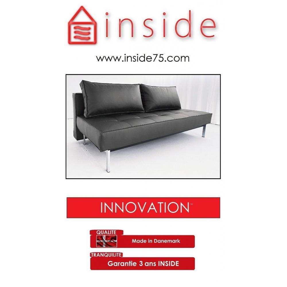 canap s rapido canape lit design sly fa on cuir noir innovation convertible lit 140 200 cm. Black Bedroom Furniture Sets. Home Design Ideas