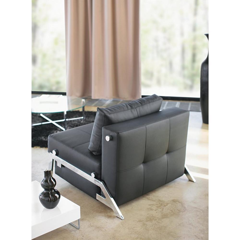 Fauteuils convertibles convertibles innovation fauteuil lit design sofabed cubed tissu enduit - Fauteuil convertible design ...