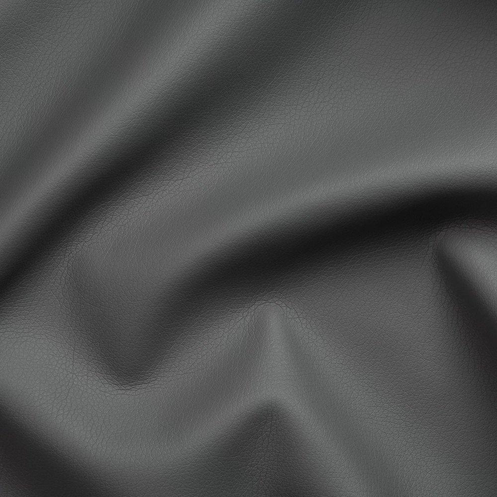 Canapé express 120 cm SOFIA EDITION Cuir et PU Cayenne gris matelas 16 cm