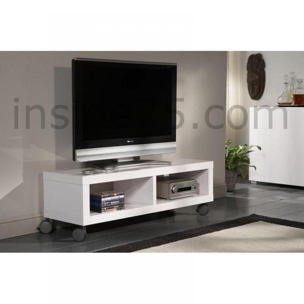 meubles tv meubles et rangements meuble tv design softy avec rangements inside75. Black Bedroom Furniture Sets. Home Design Ideas