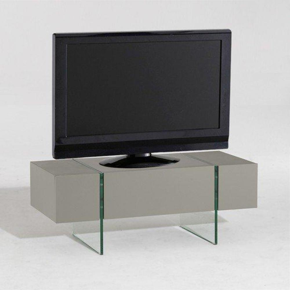meubles tv meubles et rangements solaris meuble tv taupe. Black Bedroom Furniture Sets. Home Design Ideas