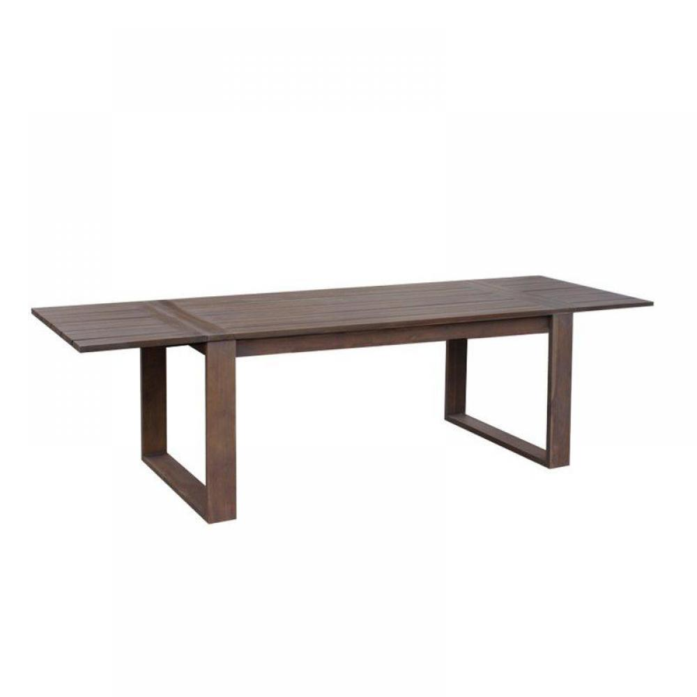 Tables modulables, tables et chaises, Table extensible SOLID teck ...