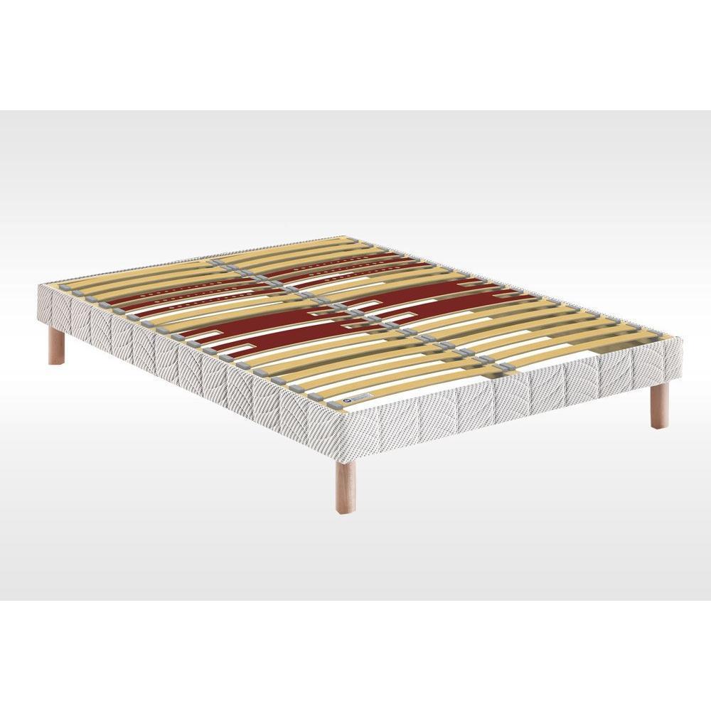 sommiers au meilleur prix bultex sommier 90 190 bultex lattes multiplis pieds inclus inside75. Black Bedroom Furniture Sets. Home Design Ideas