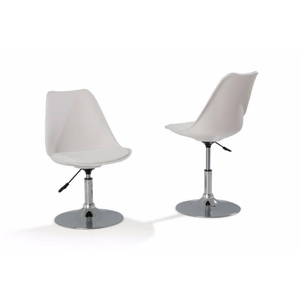 chaises de bureau meubles et rangements chaise de bureau reglable paris simili publanc inside75. Black Bedroom Furniture Sets. Home Design Ideas