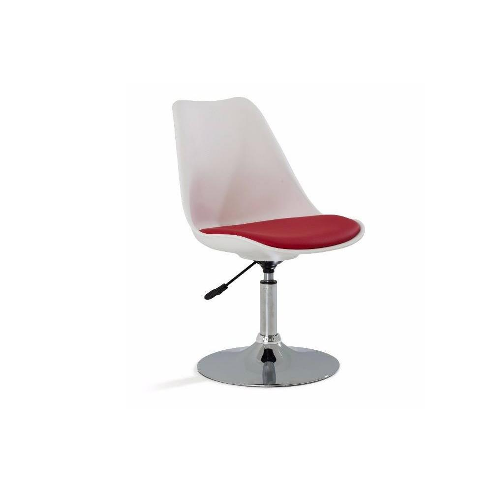 Chaises de bureau meubles et rangements chaise de bureau reglable paris sim - Chaise de bureau rouge ...