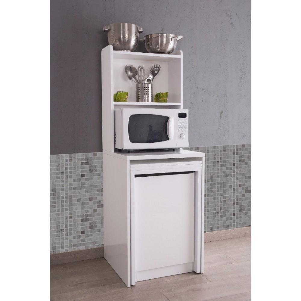 Console extensible le gain de place tendance au meilleur prix meuble kolto - Meuble console blanc ...