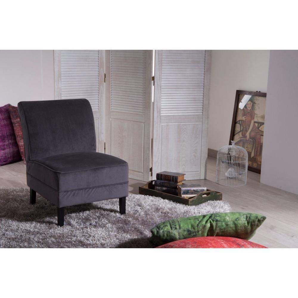 chauffeuses canap s et convertibles petit fauteuil loosen tissu gris inside75. Black Bedroom Furniture Sets. Home Design Ideas
