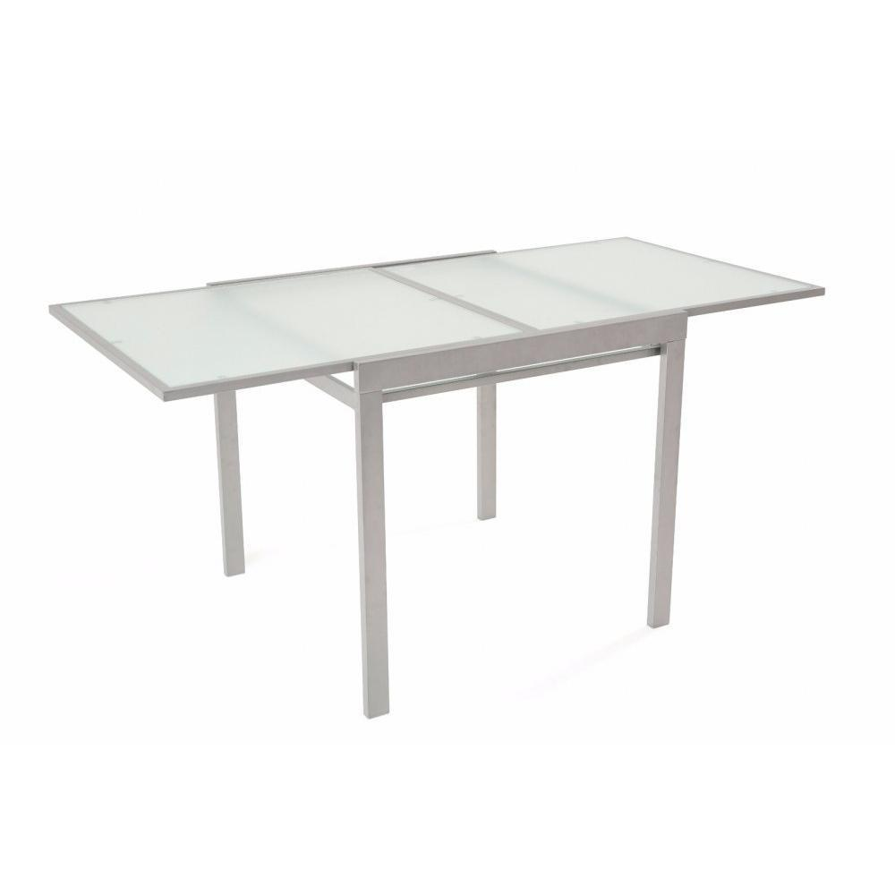 Tables design au meilleur prix table repas carr for Table extensible 3 suisses