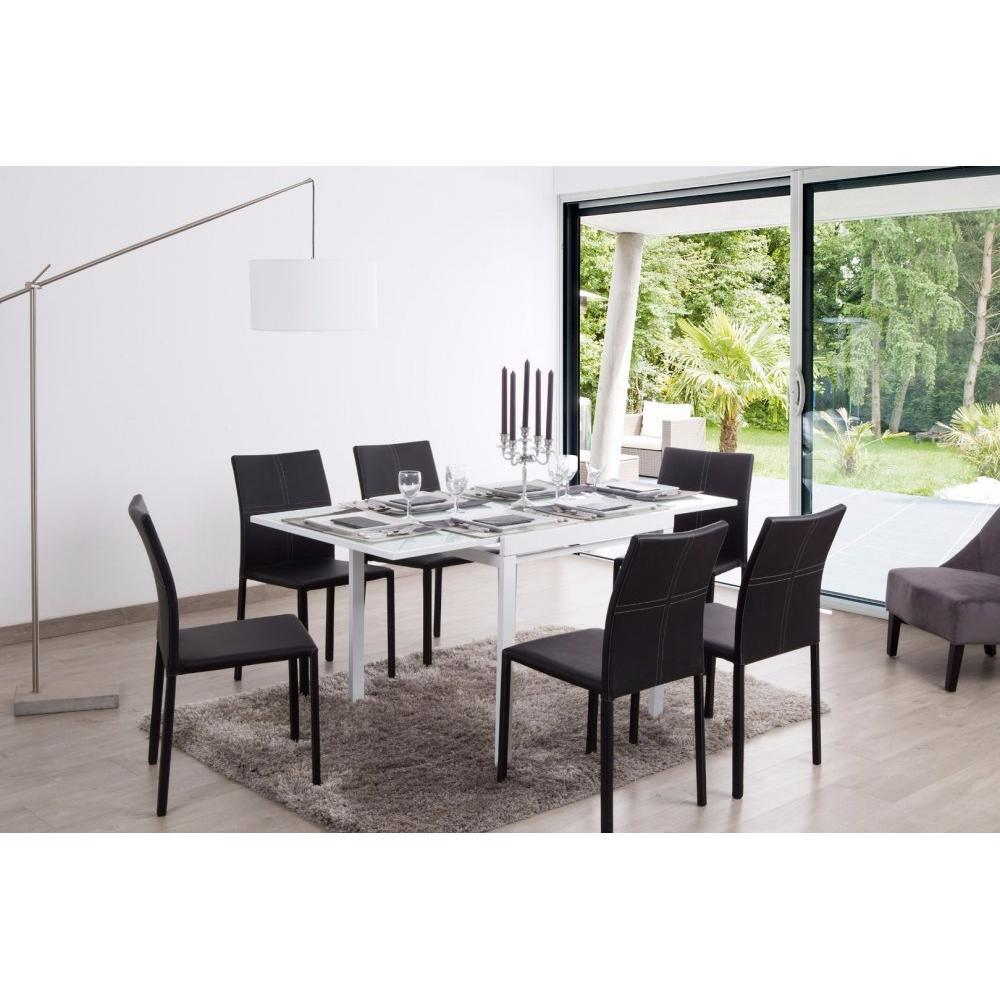 table extensible et de r ception au meilleur prix inside75. Black Bedroom Furniture Sets. Home Design Ideas