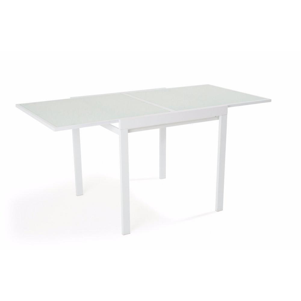 Table de repas design au meilleur prix inside75 - Table extensible blanc ...
