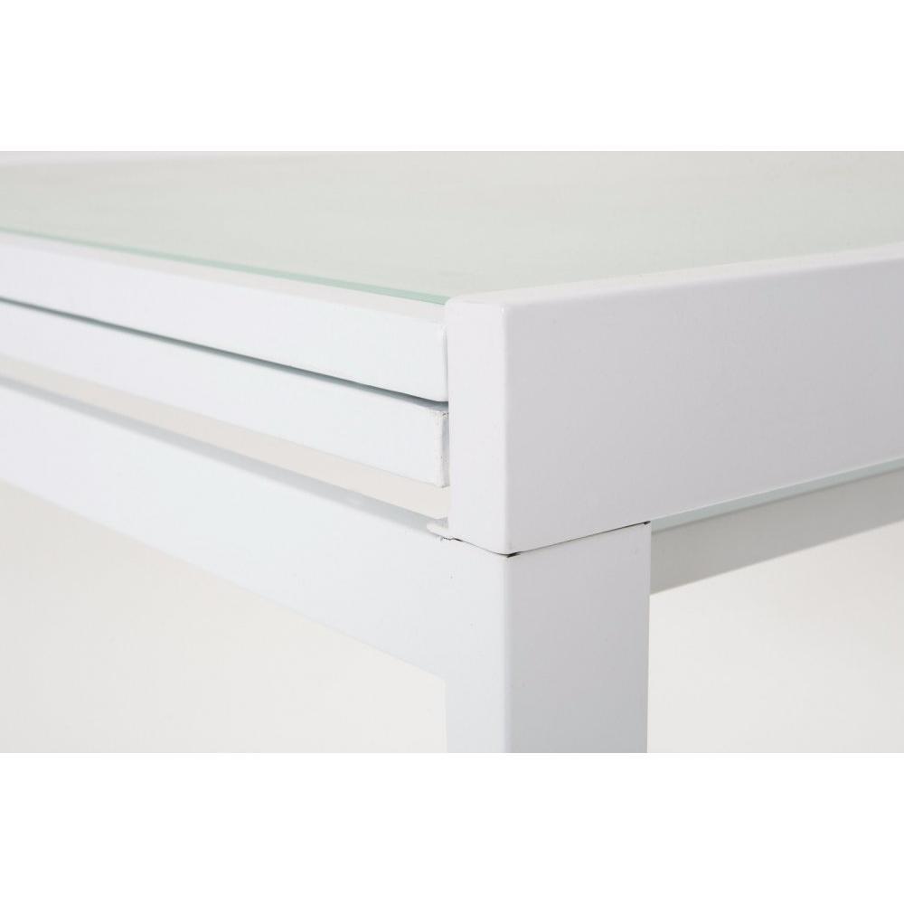 Table extensible et de r ception au meilleur prix inside75 - Table extensible blanc ...