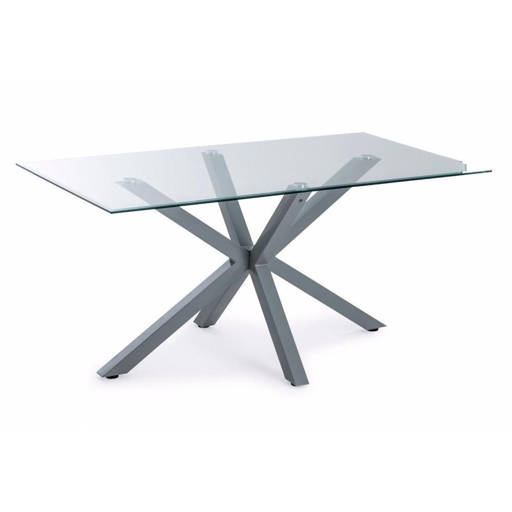Table de repas design au meilleur prix table repas marek - Set de table pour table en verre ...