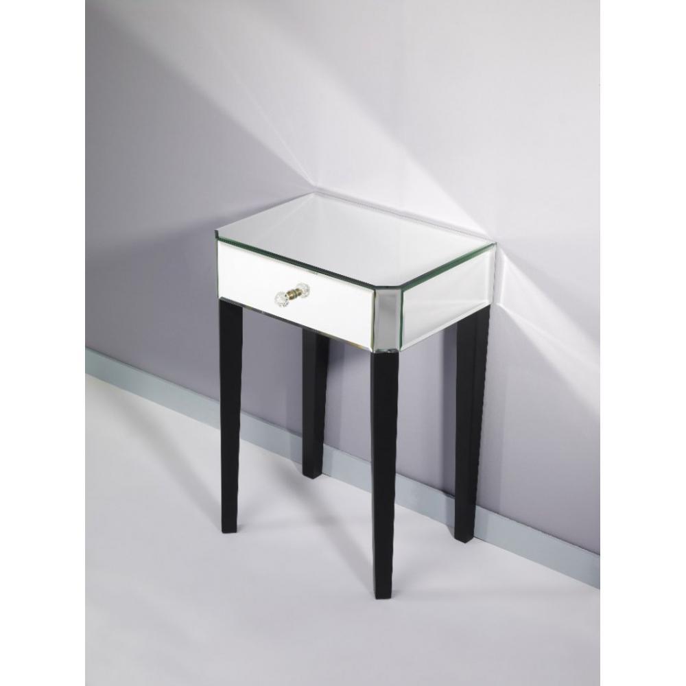 chevets meubles et rangements sowhat chevet miroir en verre pm inside75. Black Bedroom Furniture Sets. Home Design Ideas