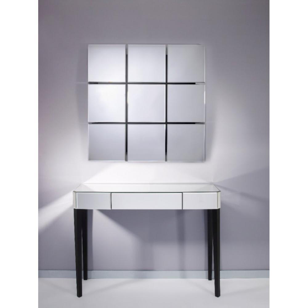console design ultra tendance au meilleur prix sowhat console miroir en verre gm inside75. Black Bedroom Furniture Sets. Home Design Ideas