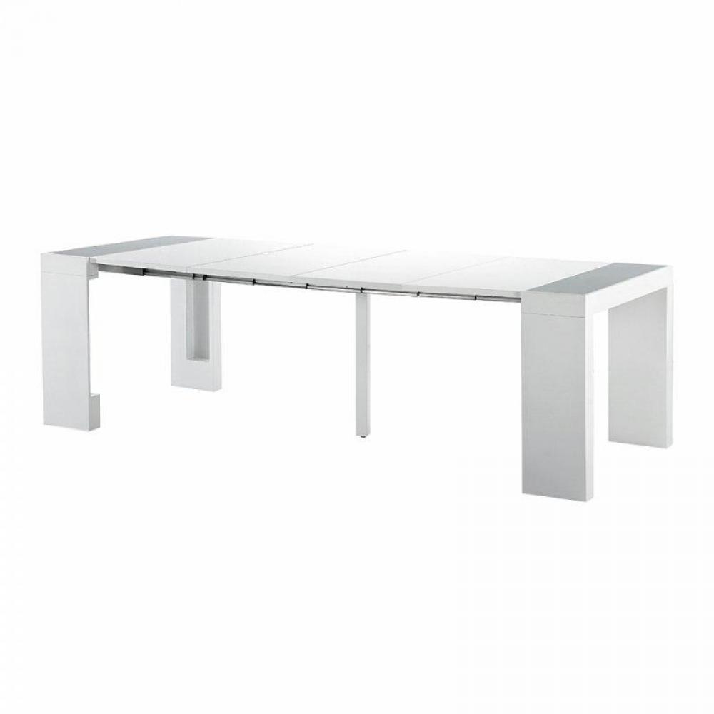 Bureaux tables et chaises console extensible space - Console extensible rallonges integrees ...