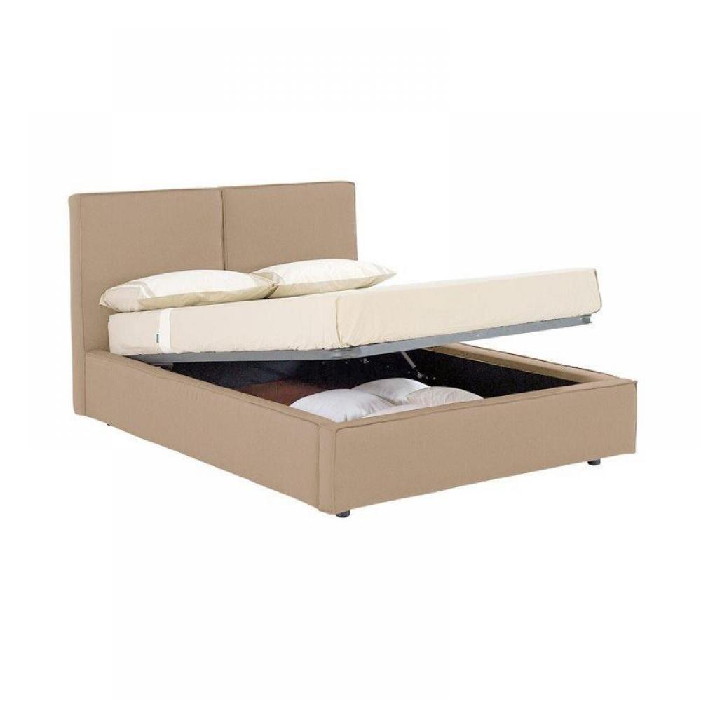 lits coffres chambre literie lit coffre design squadra couchage 2 personnes 140 200cm inside75. Black Bedroom Furniture Sets. Home Design Ideas