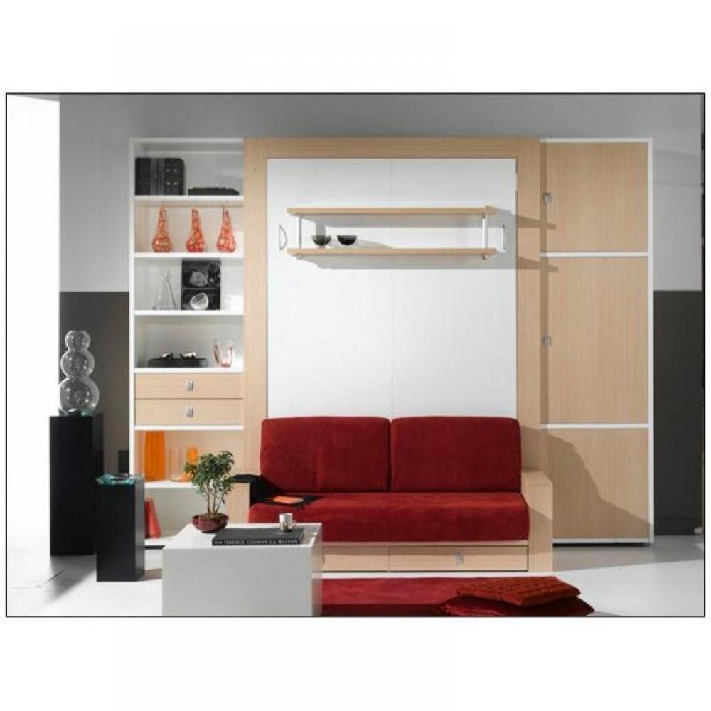 Canap s convertibles ouverture rapido armoire lit avec - Canape avec lit tiroir ...