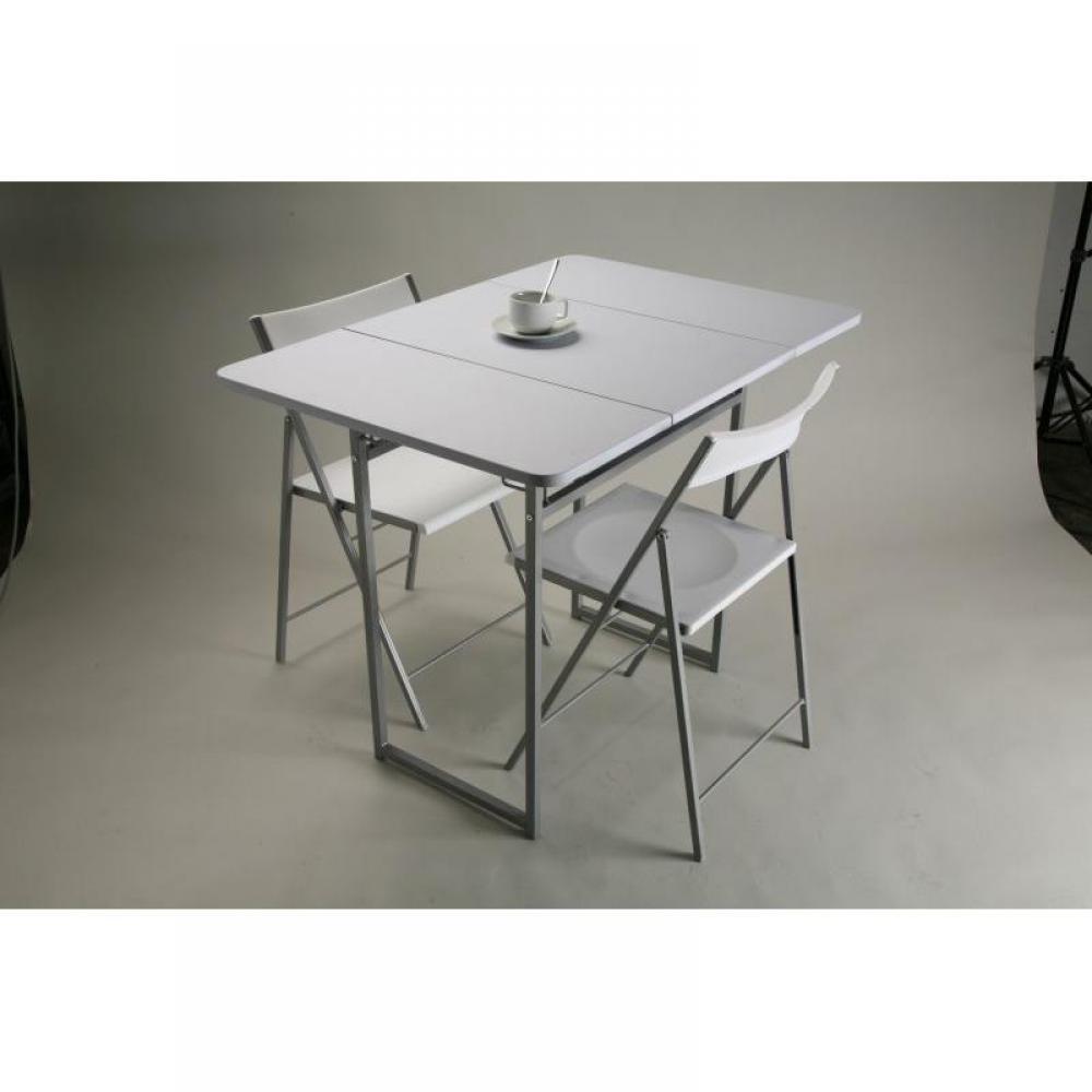 table de repas design au meilleur prix standup table extensible en bois avec 2 chaises avec. Black Bedroom Furniture Sets. Home Design Ideas