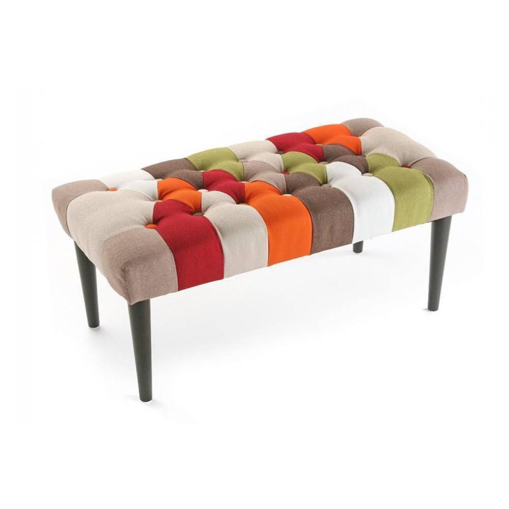 bancs tables et chaises steed banc patchwork inside75. Black Bedroom Furniture Sets. Home Design Ideas