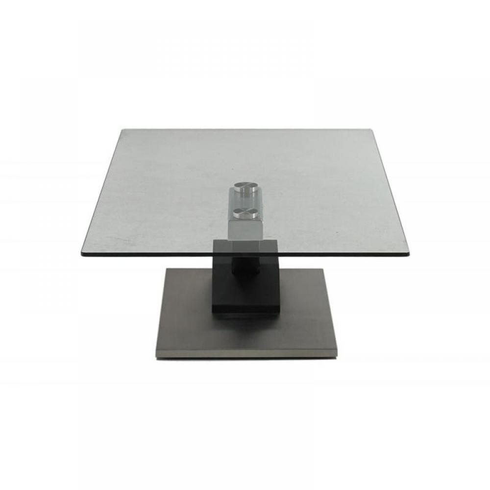 Table basse carr e ronde ou rectangulaire au meilleur prix table basse step - Table basse pied central ...