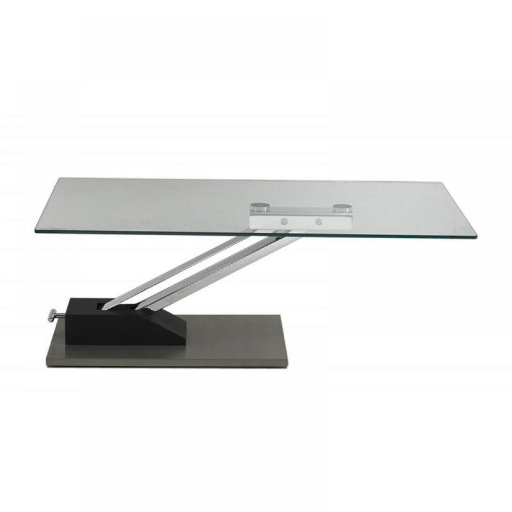 table basse carr e ronde ou rectangulaire au meilleur prix table basse step relevable en table. Black Bedroom Furniture Sets. Home Design Ideas