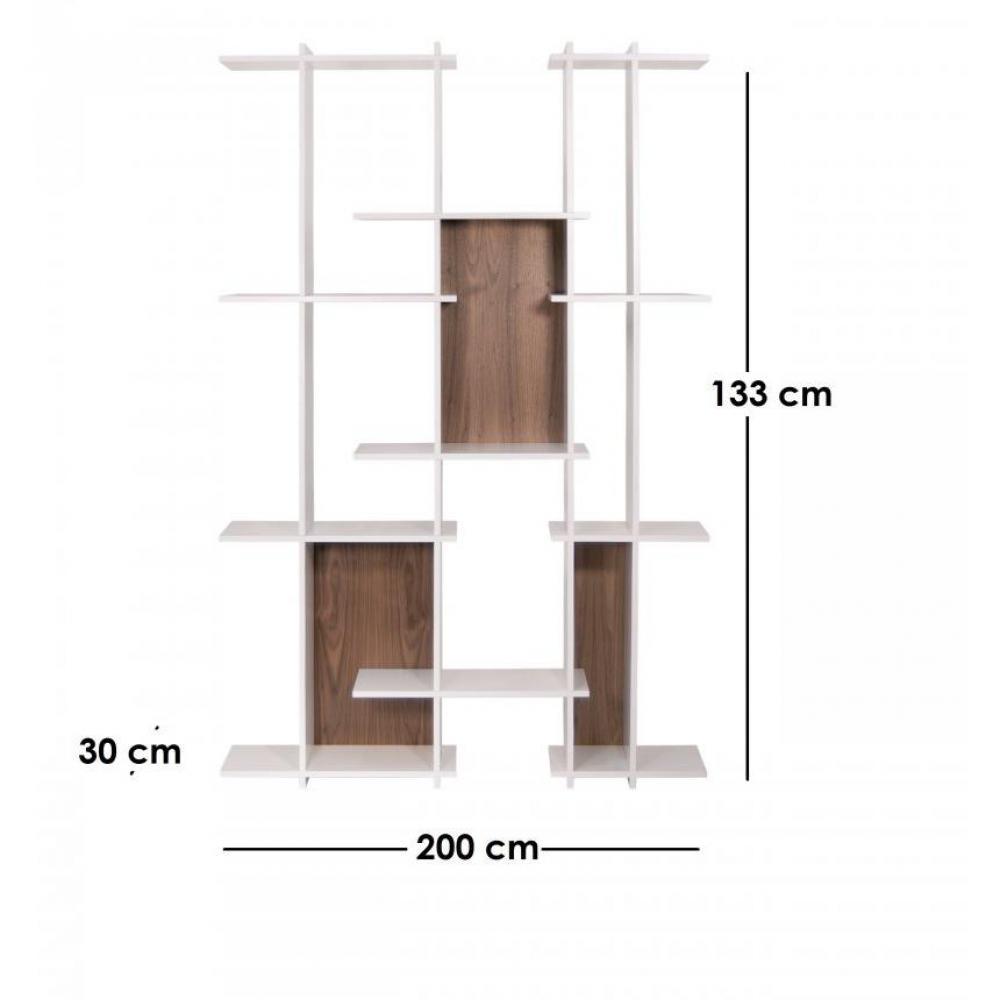biblioth ques tag res meubles et rangements temahome strat biblioth que au design d structur. Black Bedroom Furniture Sets. Home Design Ideas