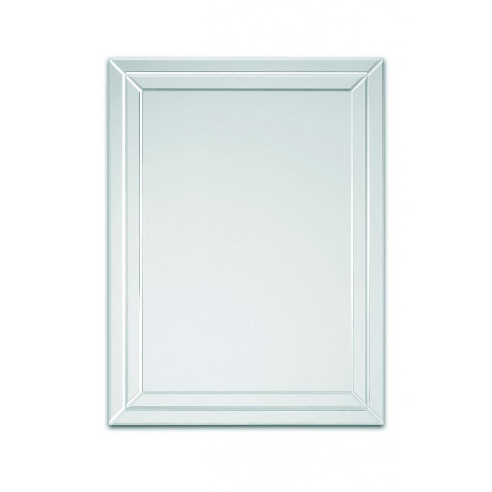 Miroirs meubles et rangements stripes miroir mural for Miroir mural design