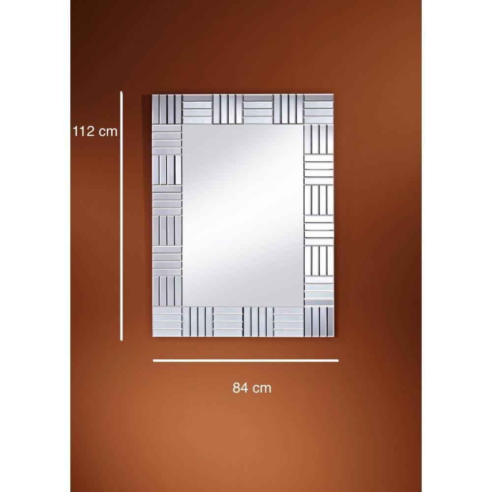 Miroirs meubles et rangements strummer miroir mural design en verre inside75 - Miroir design belgique ...