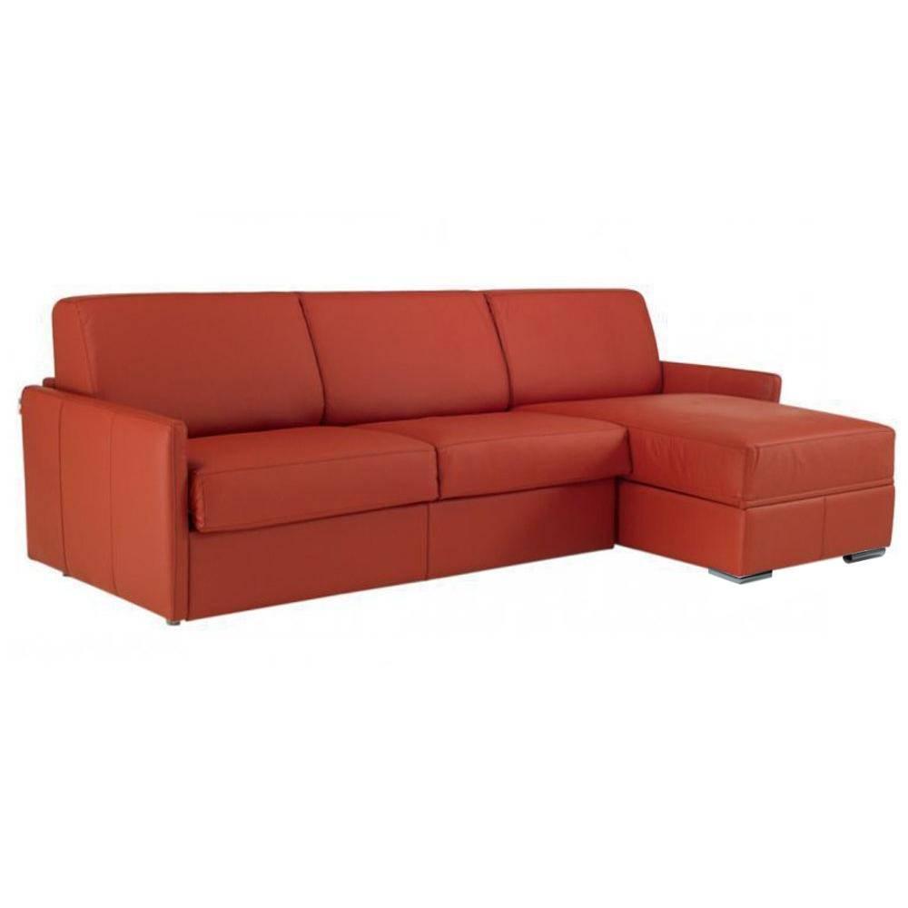 Canapé d'angle 2 places Tissu Confort