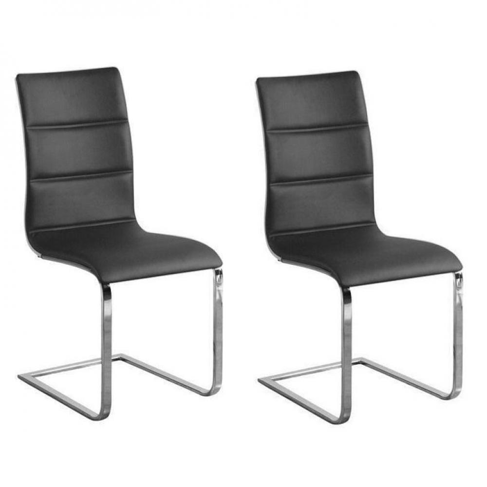 chaise design ergonomique et stylis e au meilleur prix lot de 2 chaises design sydney fa on. Black Bedroom Furniture Sets. Home Design Ideas
