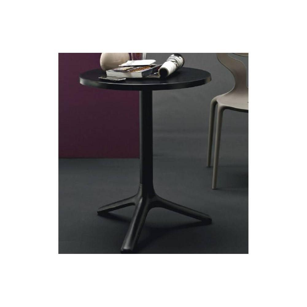 Petite table ronde blanche maison design for Table ronde blanche design