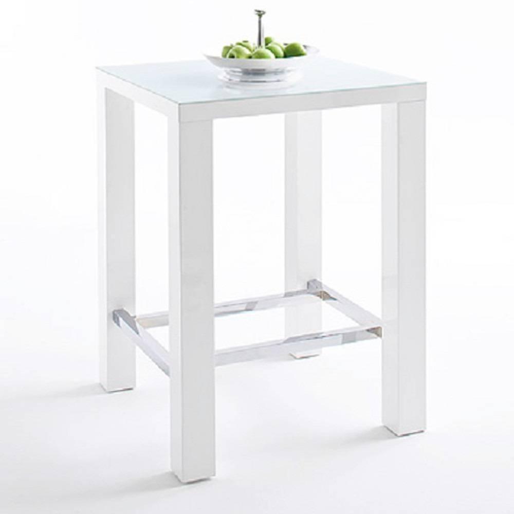 Prix des meuble salle manger 189 for Table bar blanche