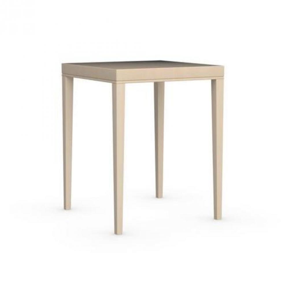 Bars meubles et rangements table de bar la locanda 70x70 for Meuble 70x70