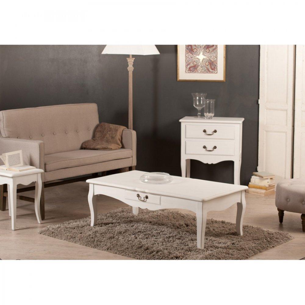 table basse carr e ronde ou rectangulaire au meilleur prix table basse 2 tiroirs anna en fr ne. Black Bedroom Furniture Sets. Home Design Ideas