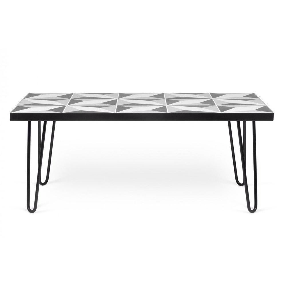 table basse carr e ronde ou rectangulaire au meilleur prix table basse arrow plateau en. Black Bedroom Furniture Sets. Home Design Ideas