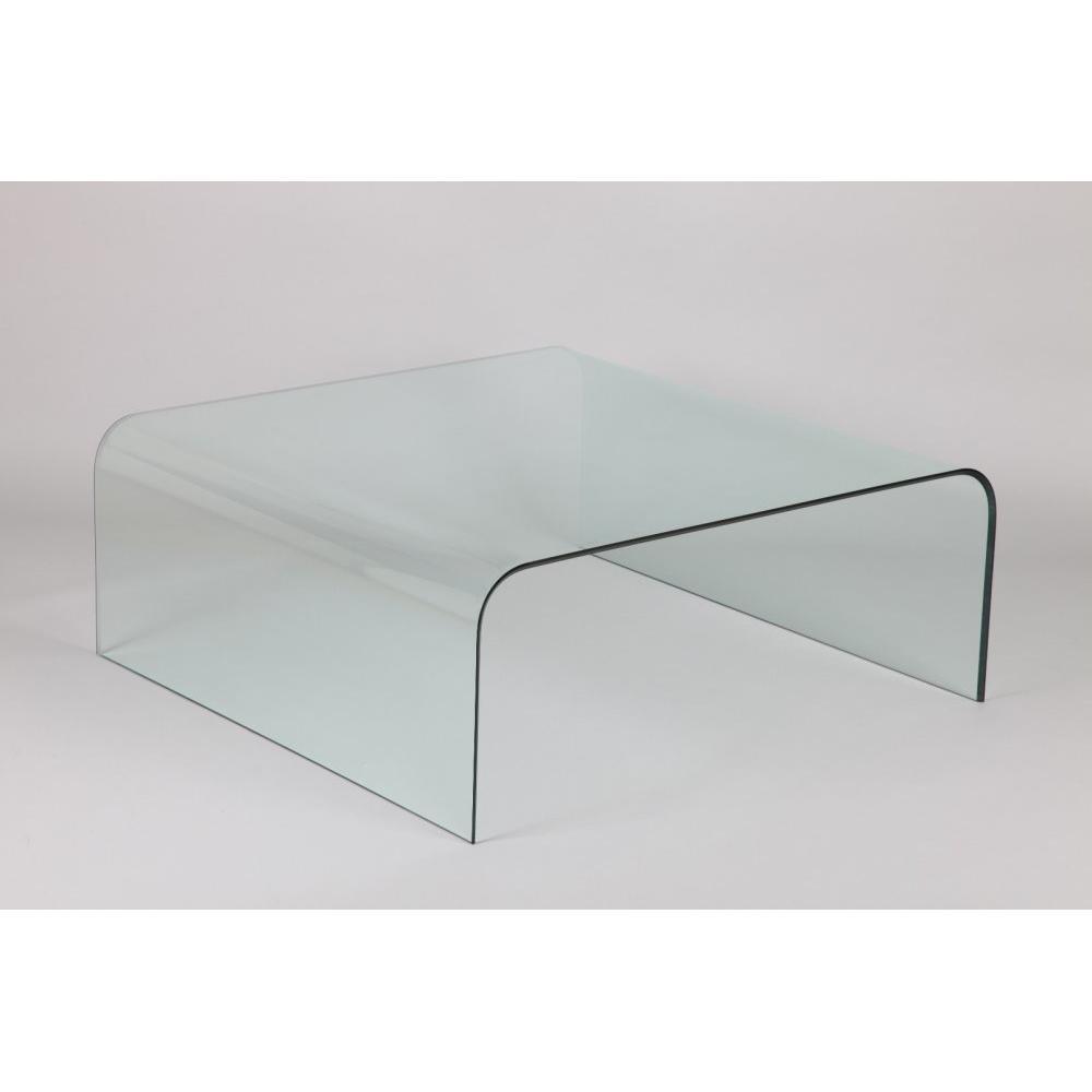 Table Basse Carree Verre.Table Basse Carre Cristale En Verre