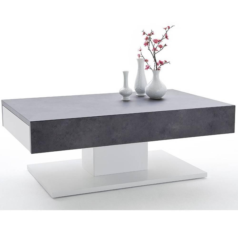 table effet beton fashion designs. Black Bedroom Furniture Sets. Home Design Ideas