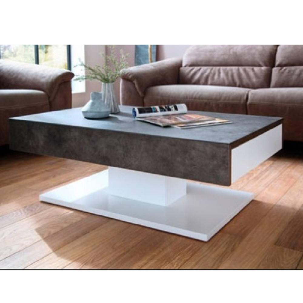 Table basse carr e ronde ou rectangulaire au meilleur prix table basse design chani 110 x 70 - Table basse luxe design ...