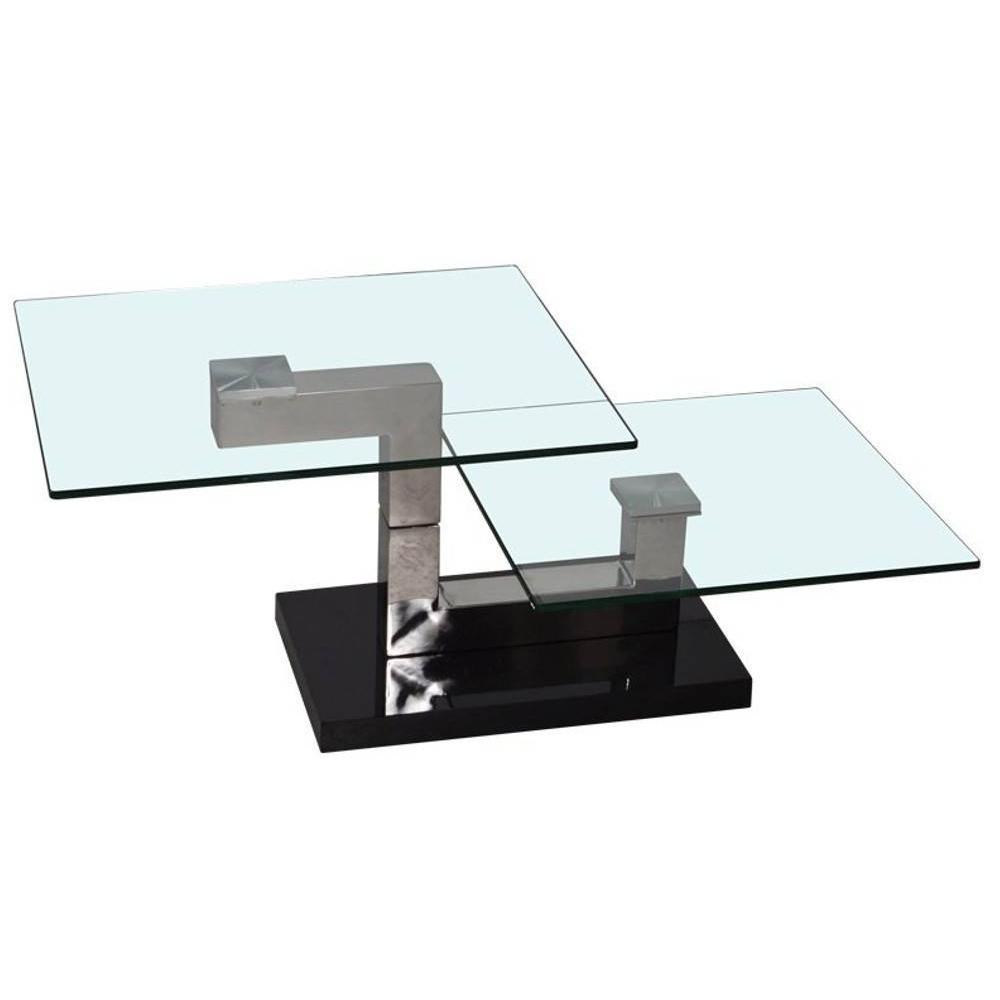 Table basse carr e ronde ou rectangulaire au meilleur prix table basse rect - Table basse verre rectangulaire ...