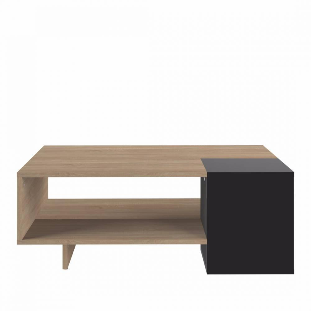 Table basse design scandinave maison design for Table rectangulaire scandinave