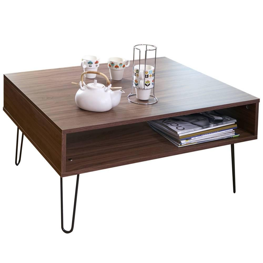 Table basse carr e ronde ou rectangulaire au meilleur for Table basse scandinave salon