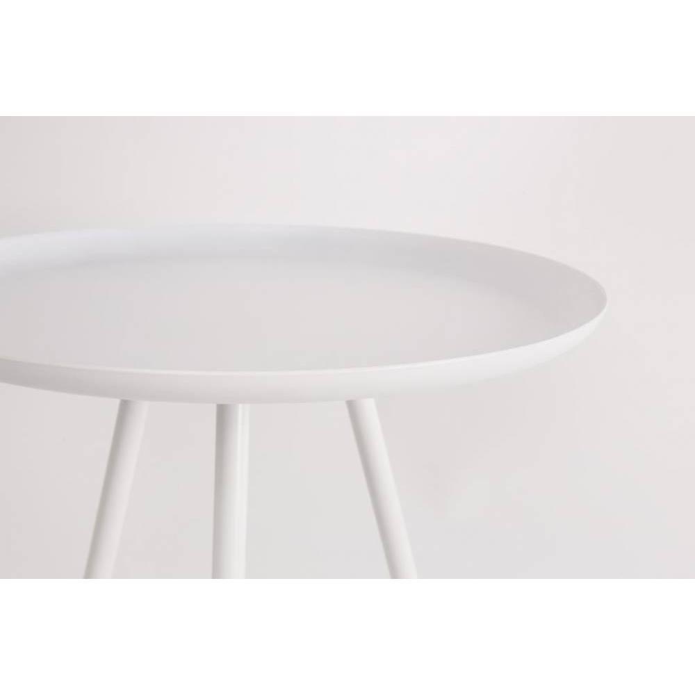 Table basse carr e ronde ou rectangulaire au meilleur for Table basse metal blanc