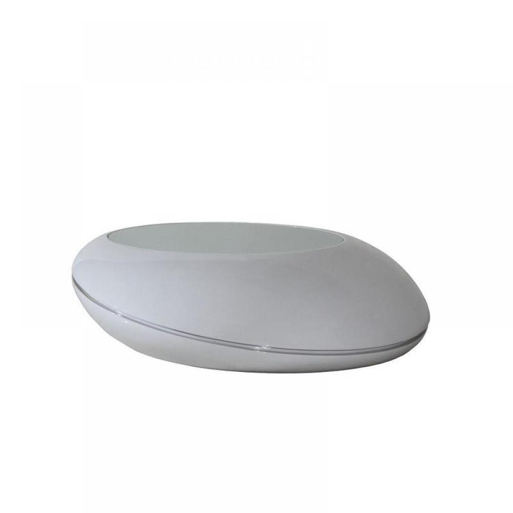 table basse carr e ronde ou rectangulaire au meilleur prix galet table basse design gris clair. Black Bedroom Furniture Sets. Home Design Ideas