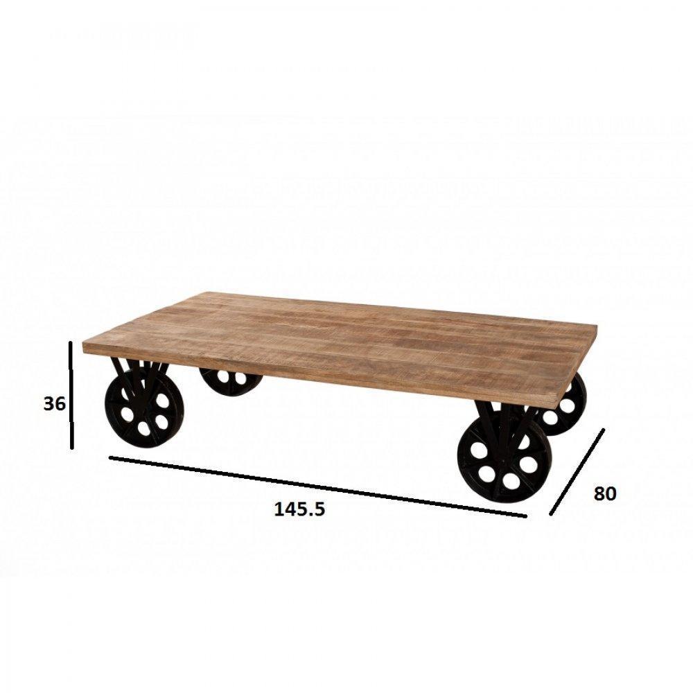 Table basse carr e ronde ou rectangulaire au meilleur - Roues pour table basse ...