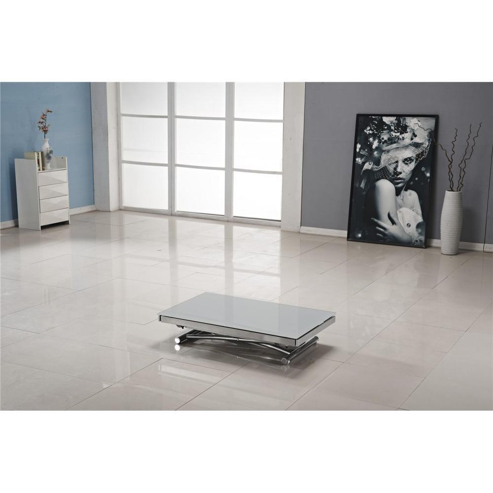 Table relevable design ou classique au meilleur prix table basse jump extens - Table extensible grise ...