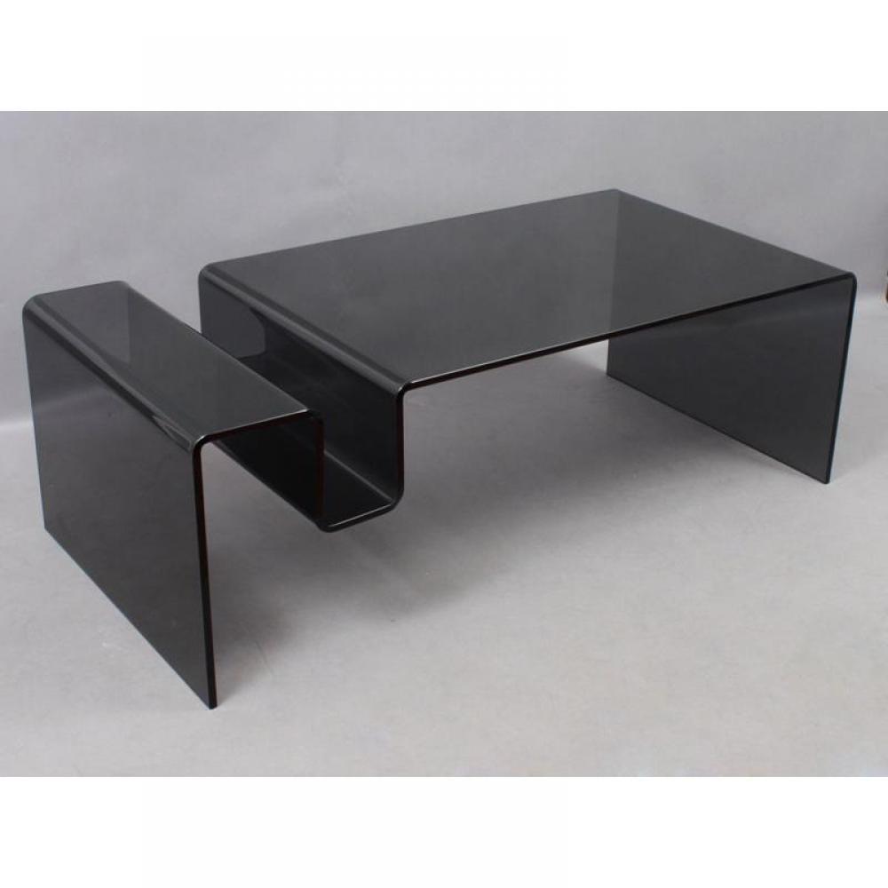 tables basses meubles et rangements table basse nike en verre inside75. Black Bedroom Furniture Sets. Home Design Ideas