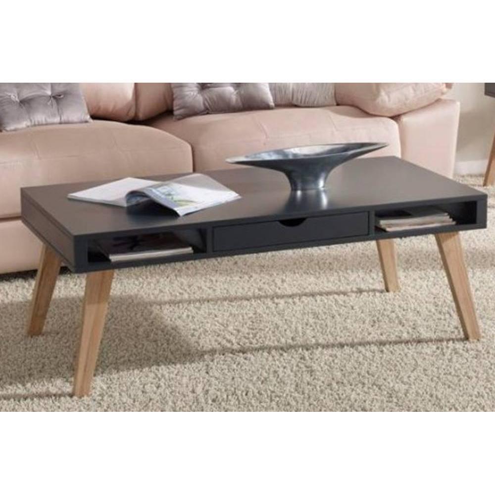 Table basse carr e ronde ou rectangulaire au meilleur - Table basse gris anthracite ...